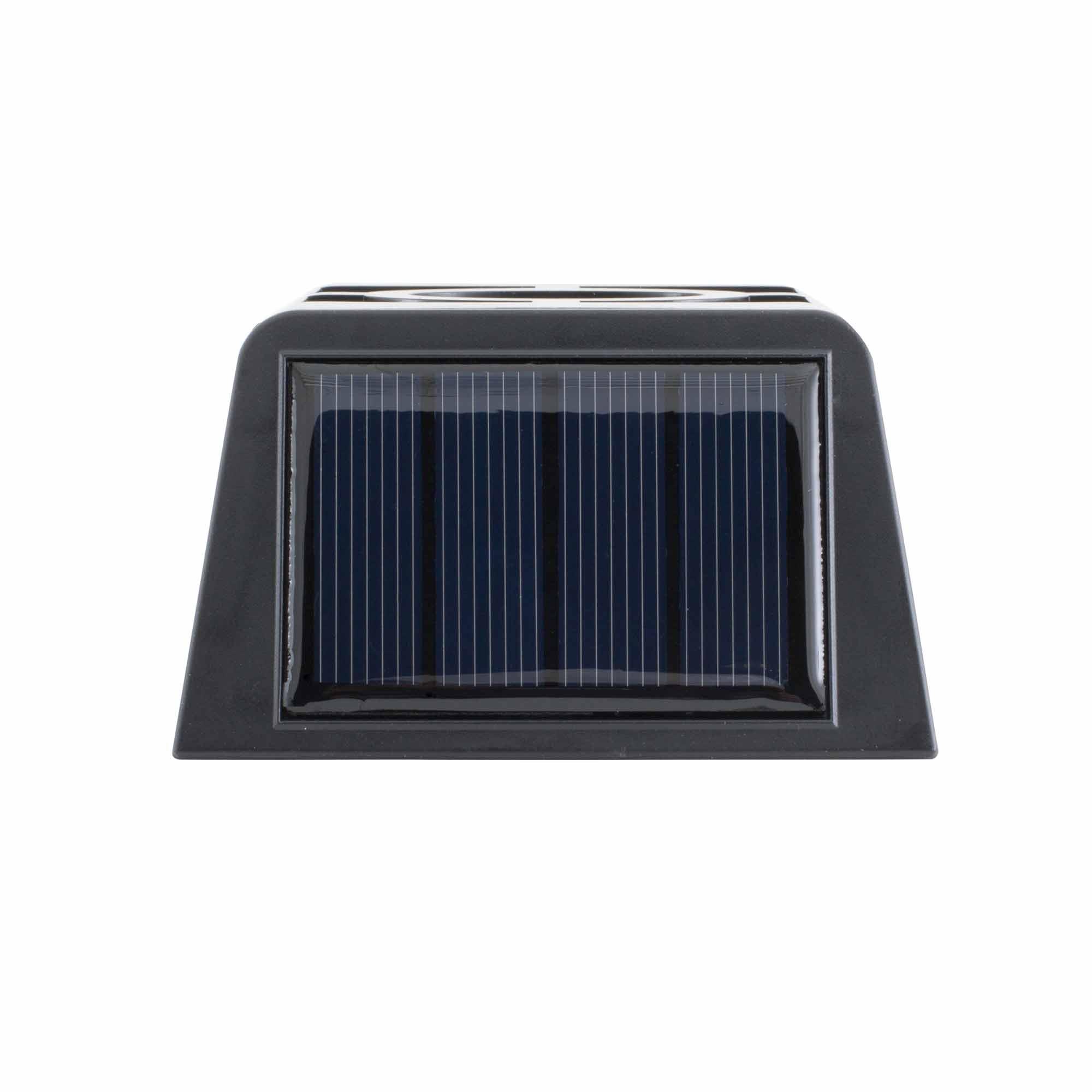applique mural led solaire a detecteur de mouvement l500. Black Bedroom Furniture Sets. Home Design Ideas