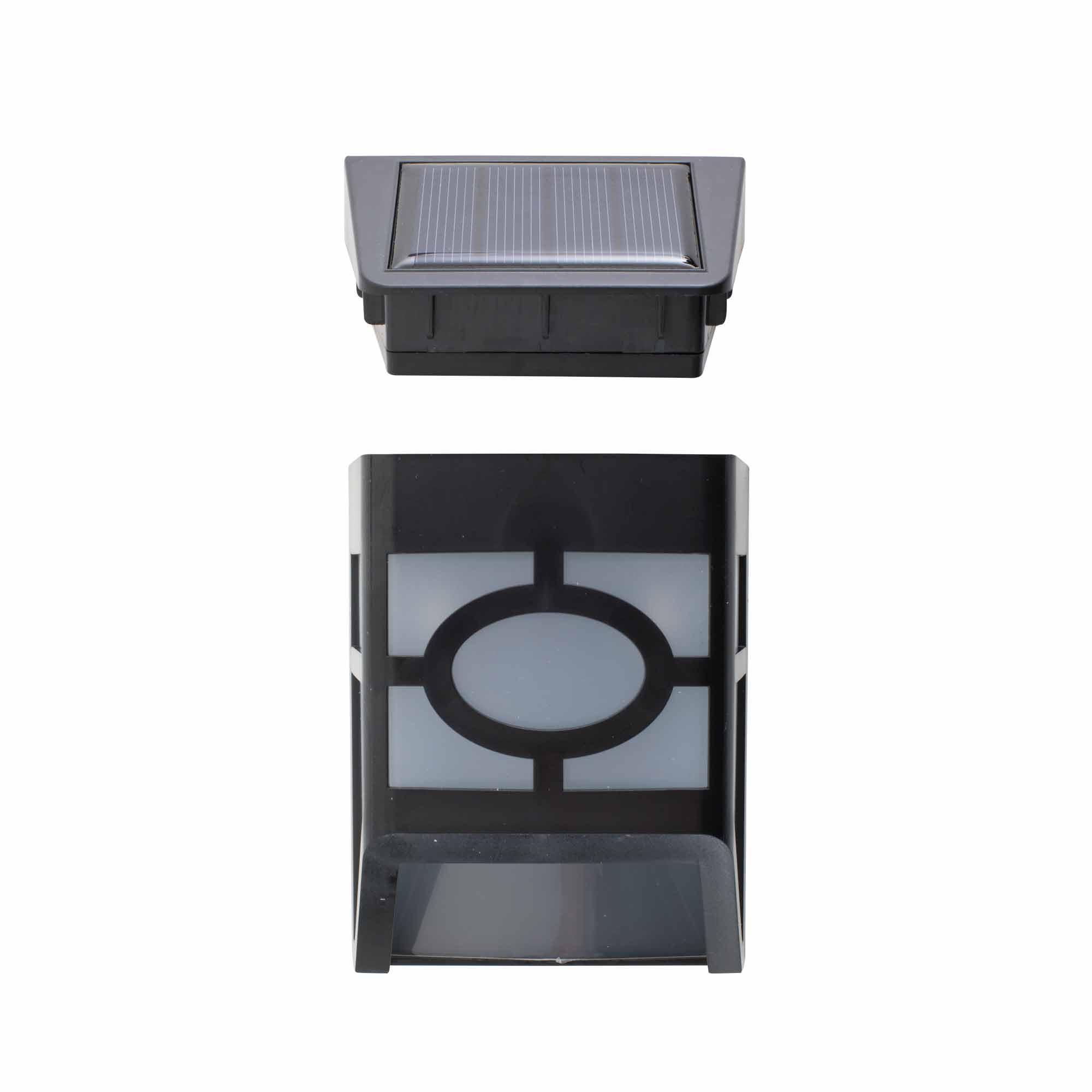 Applique mural led solaire a detecteur de mouvement l500 for Applique murale solaire exterieur avec detecteur