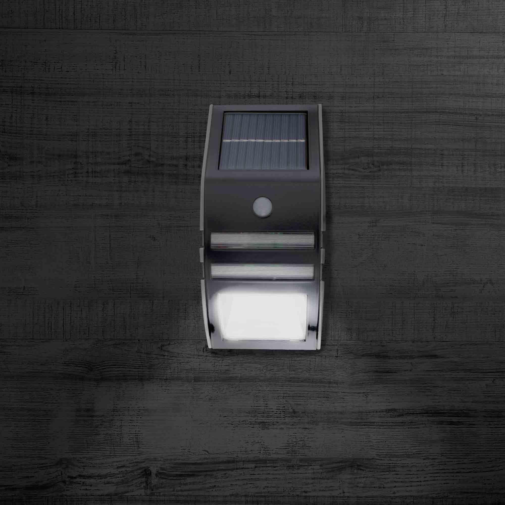Notre gamme applique led solaire avec detecteur de - Detecteur de mouvement solaire ...