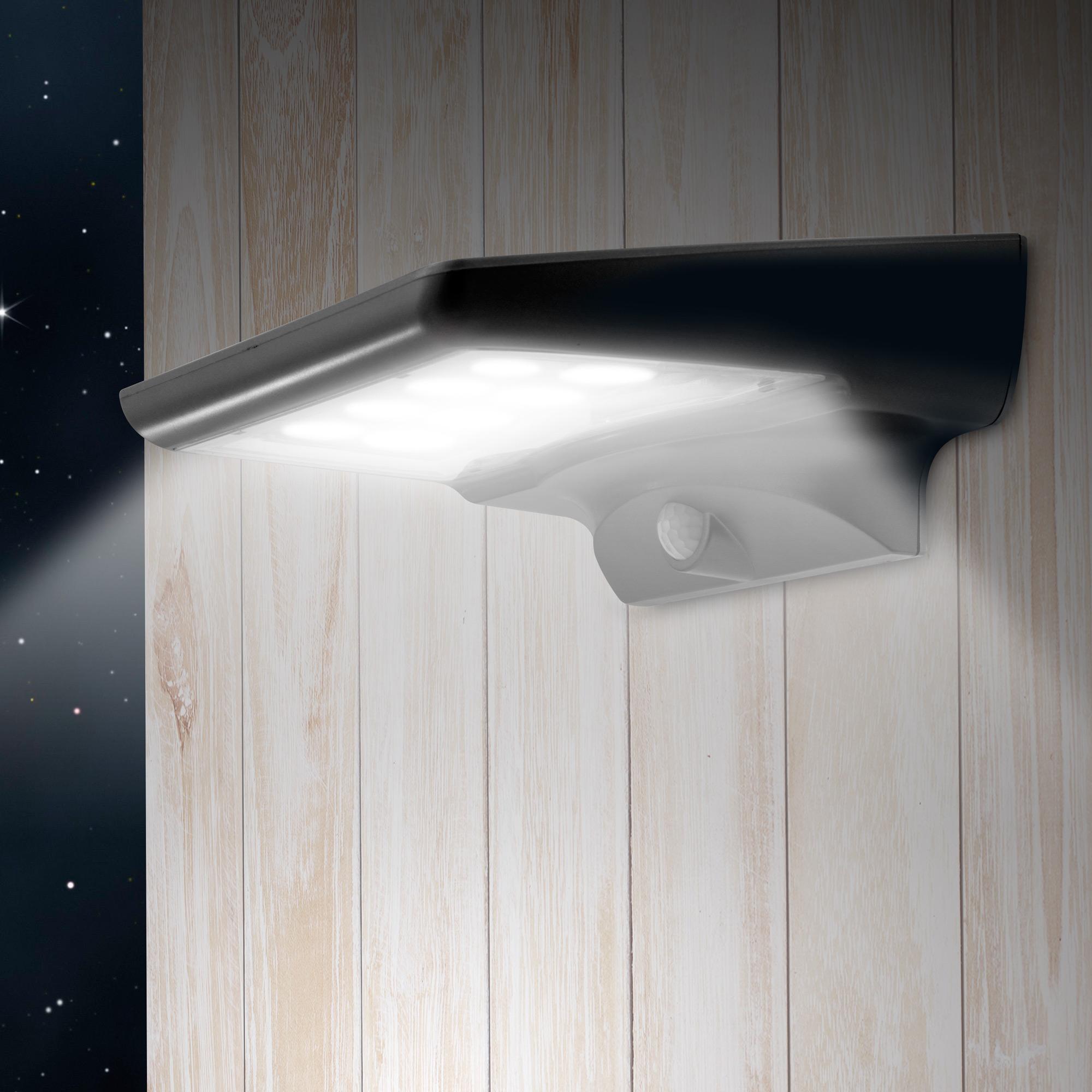 MPOW Lampe Solaire 20-40LED Capteur de Mouvement Applique Extérieur Jardin 120°